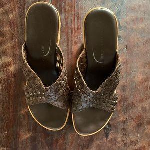 Athena Alexander Cork Wedge sandals